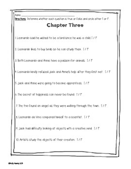 Magic Tree House: Monday with a Mad Genuis A Guided Reading Activity