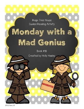 Magic Tree House: Monday with a Mad Genuis A Guided Readin
