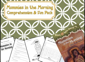 Magic Tree House Mummies in the Morning #3