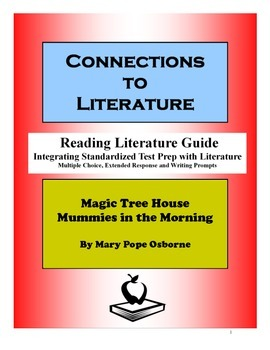 Magic Tree House Mummies in the Morning-Reading Literature Guide