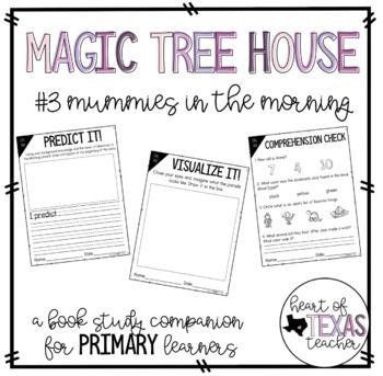 Magic Tree House #3 Mummies in the Morning {A Book Study Companion}