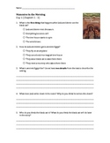 Magic Tree House - Mummies in the Morning Activities