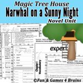 Magic Tree House - Narwhal on a Sunny Night Novel Unit-Voc
