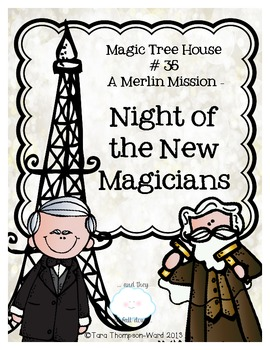 Magic Tree House: Night of the New Magicians