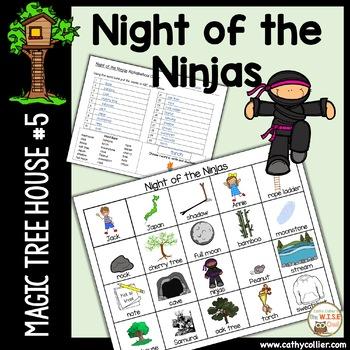 Magic Tree House - Night of the Ninja - #5