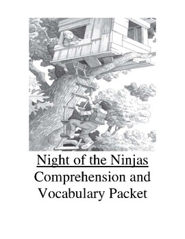Magic Tree House Night of the Ninjas Guided Reading Unit Level N