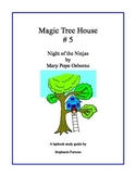 Magic Tree House - Night of the Ninjas Lapbook