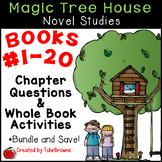 Magic Tree House Novel Studies - Books 1-20 Mega Bundle