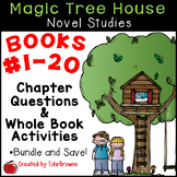 Magic Tree House Novel Studies - Books 1-20 Mega Bundle