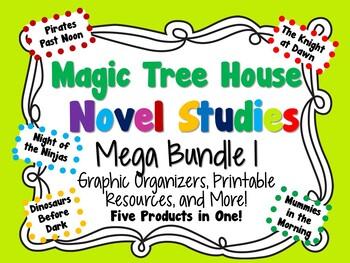 Magic Tree House Novel Studies Mega Bundle 1