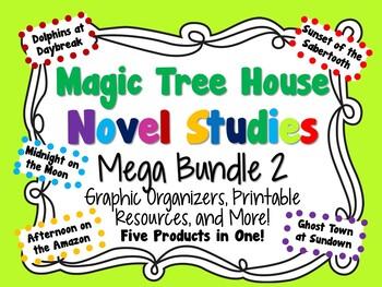 Magic Tree House Novel Studies Mega Bundle 2