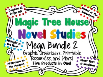 Magic Tree House Novel Studies Mega Bundle 2