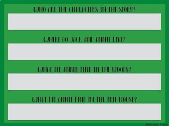 Magic Tree House Novel Study Books 1-5  (Great for Google Classroom!)