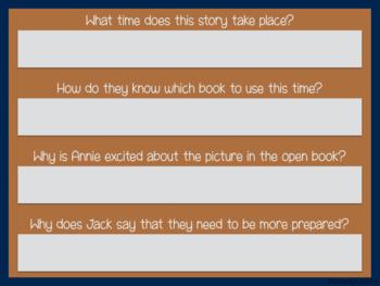 Magic Tree House Novel Study Books 6-10 (Great for Google Classroom!)