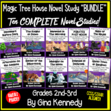 Magic Tree House Bundle 1-10, Ten Complete Novel Study Trifold Units & Projects!