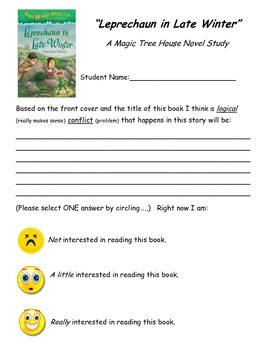 Magic Tree House Novel Study: Leprechaun in Late Winter