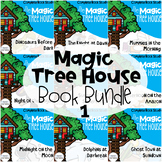 Magic Tree House Bundle 1-10 Guided Reading Novel Unit