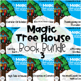 Magic Tree House Bundle 21-30 Guided Reading Novel Unit