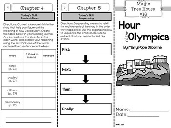 Ancient Greece & the Olympics Magic Tree House Paired Reading