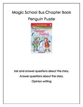 Magic Tree House Penguin Puzzle