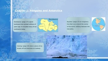 Magic Tree House Penguins Unit PowerPoint