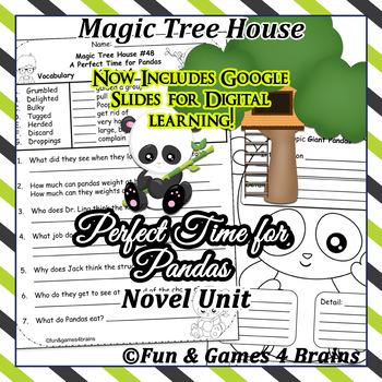 Magic Tree House - Perfect Time for Pandas Novel Unit
