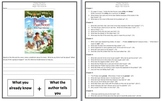 Magic Tree House Pirates Past Noon Comprehension Novel Study
