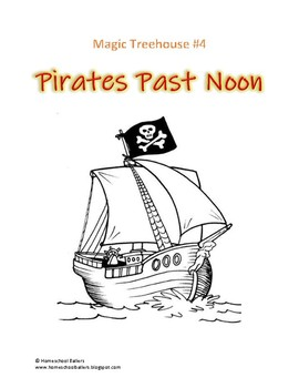 Magic Tree House Pirates Past Noon Journal