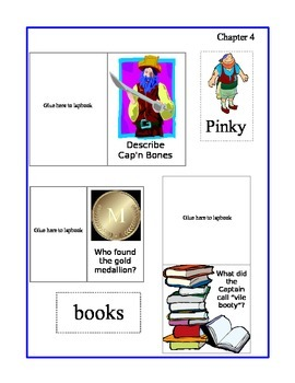 Magic Tree House - Pirates Past Noon Lapbook