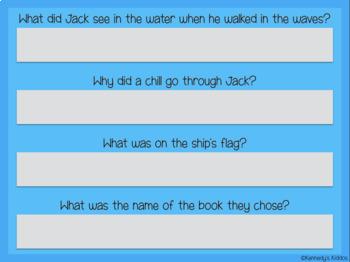 Magic Tree House: Pirates Past Noon Novel Study (Great for Google Classroom!)