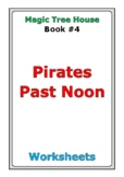 "Magic Tree House ""Pirates Past Noon"" worksheets"