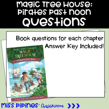 Magic Tree House: Pirates at Noon questions
