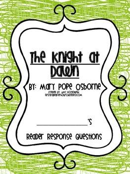 Magic Tree House Reader's Response Pack: The Knight at Dawn