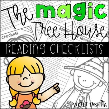 Magic Tree House Reading Checklists