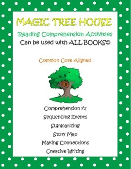 Magic Tree House Reading Comprehension Activities