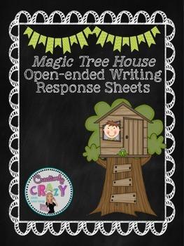 Magic Tree House Reading Response Sheets