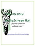 Magic Tree House Reading Scavenger Hunt