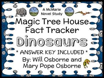 Magic Tree House Fact Tracker: Dinosaurs Book Study / Read