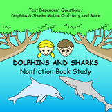 Magic Tree House Research Guide: Dolphins and Sharks Nonfiction Novel Study