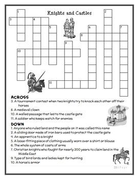 Magic Tree House Fact Tracker: Knights and Castles (Osborne) Book Study