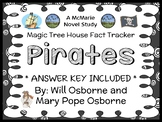 Magic Tree House Fact Tracker: Pirates Book Study / Reading Comprehension
