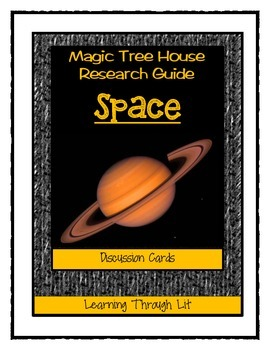 Magic Tree House SPACE Fact Tracker - Discussion Cards