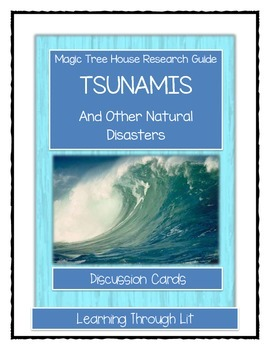 Magic Tree House TSUNAMIS Fact Tracker - Discussion Cards