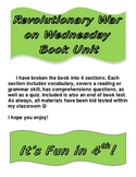 Magic Tree House Revolutionary War on Wednesday Book Unit
