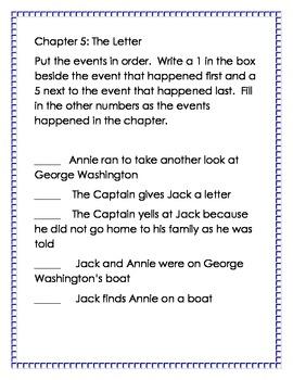 Magic Tree House Revolutionary War on Wednesday Reading Pack