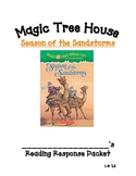 Magic Tree House: Season of the Sandstorms Comprehension Packet