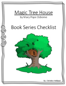 Magic Tree House Series Book Check List with General Comprehension Page