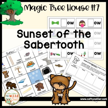 Magic Tree House - Sunset of the Sabertooth - #7