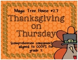 Magic Tree House: Thanksgiving on Thursday