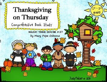 Magic Tree House, Thanksgiving on Thursday